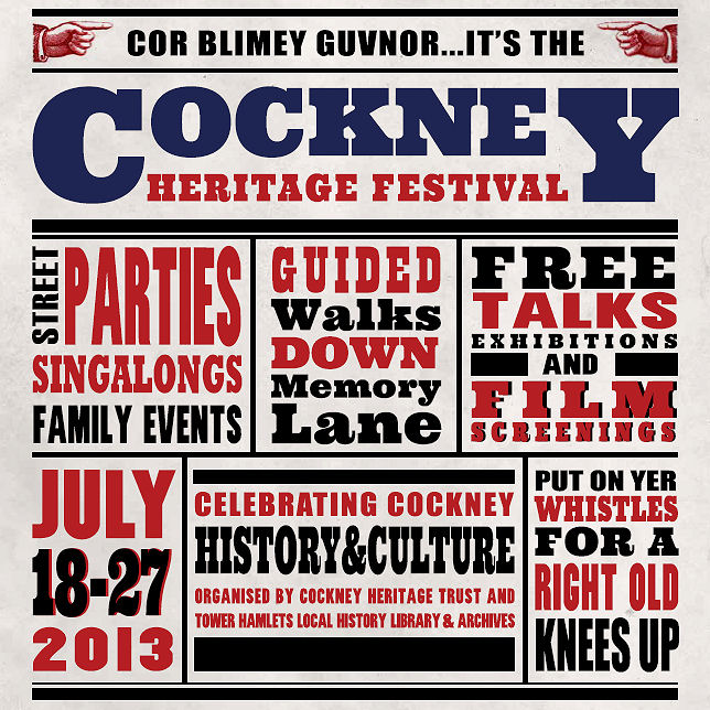 2013.05.24 - Cockney Heritage Festival Official Programme Cover - FINAL (JPEG)